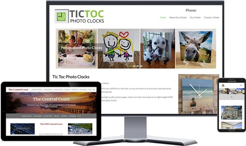 Central Coast Website Design - Central Coast Websites - Central Coast Website Updates